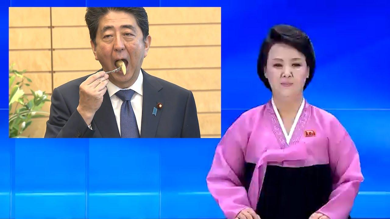 安倍元総理の逆再生を北朝鮮のアナウンサーに副音声してもらいました #DJばるす
