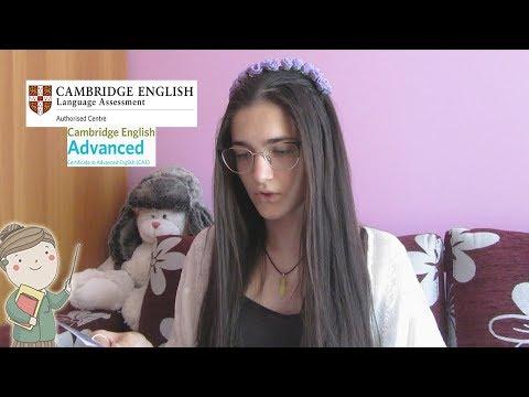 DESPRE EXAMENUL CAMBRIDGE