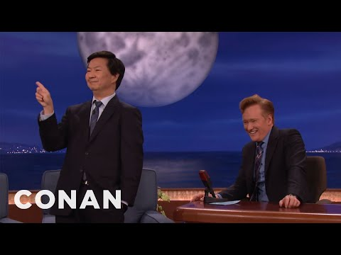 Ken Jeong's Korean Johnny Carson Impression  - CONAN on TBS