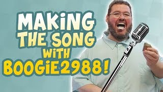 "Making the song with Boogie2988! (""My Way"")"
