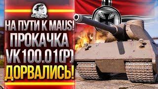 НА ПУТИ К MAUS! ПРОКАЧКА VK100.01(P) - ДОРВАЛИСЬ!