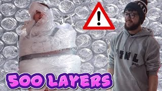 *ACTUALLY WORKED!!!* BUBBLE WRAP COSTUME l CTRLbro