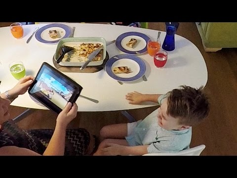 Technology has hijacked family dinnertime. Watch the DOLMIO® PEPPER HACKER™ reclaim it.