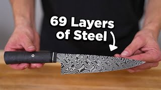 Why Damascus Knives Can Take 2 Years To Make