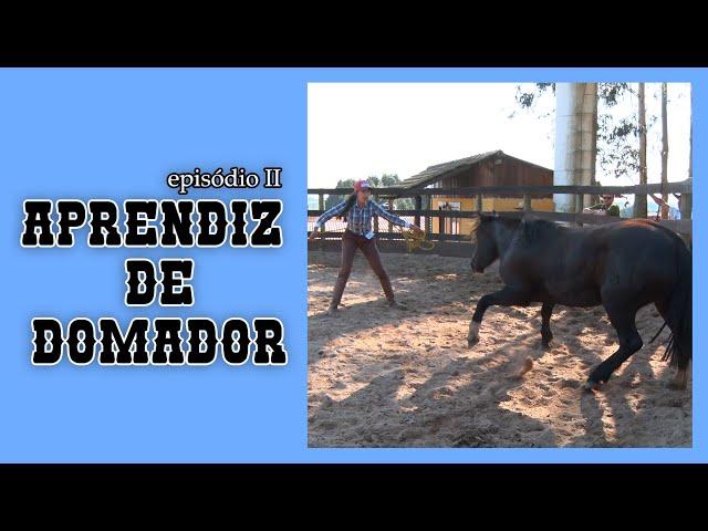 APRENDIZ DE DOMADOR - EPISÓDIO II