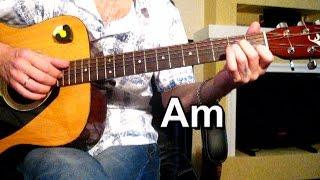 Кабриолет Малыш Тональность Аm Как играть на гитаре песню