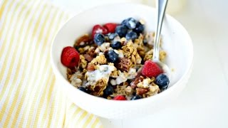 Soft And Chewy Fruit + Nut Granola