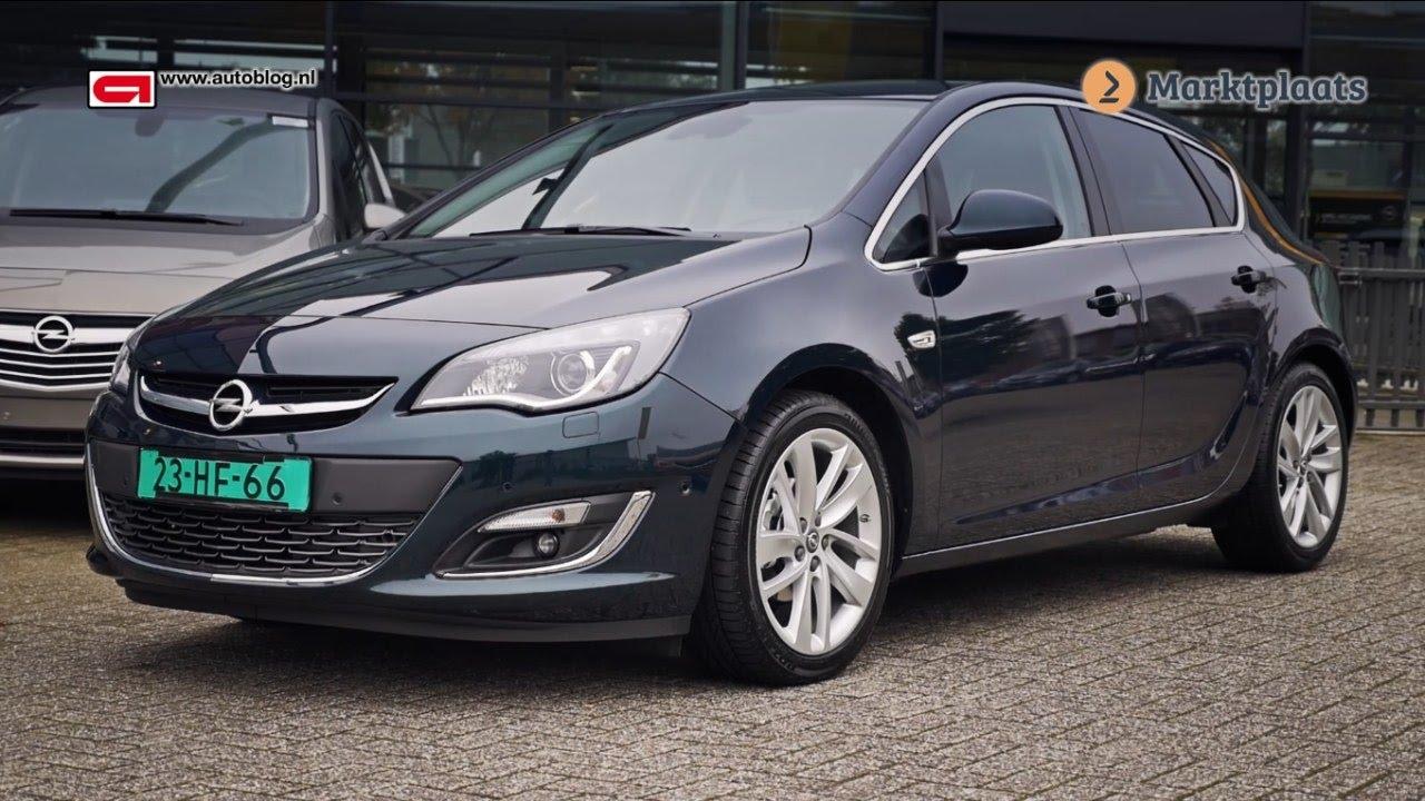 Opel Astra J (2009-2015) buying advice - YouTube