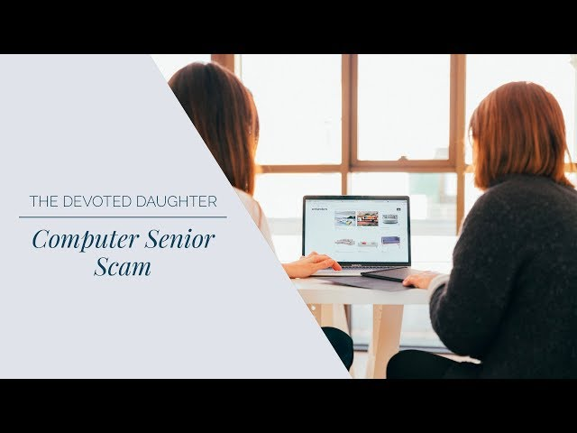 Current Computer Senior Scam