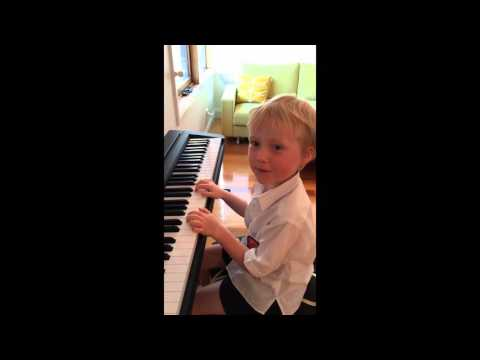 A little piano recital from Ptolemy - February 2016