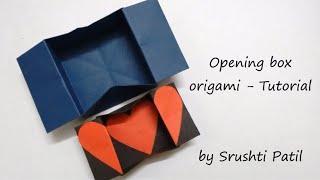 Opening box origami - Tutorial | by Srushti Patil
