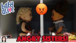 Baby Alive Twins Paige and Parker Get In A Fight! Angry Sisters Turn On Each Other!