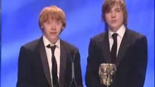 Rupert Grint & William Moseley (Bafta Awards)