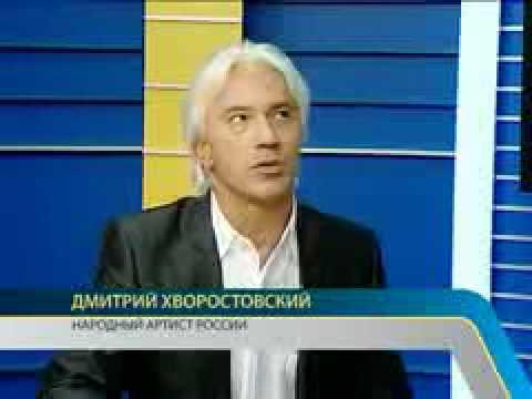 Dmitri Hvorostovsky - interview before concert in Sakhalin (w/ subtitles)