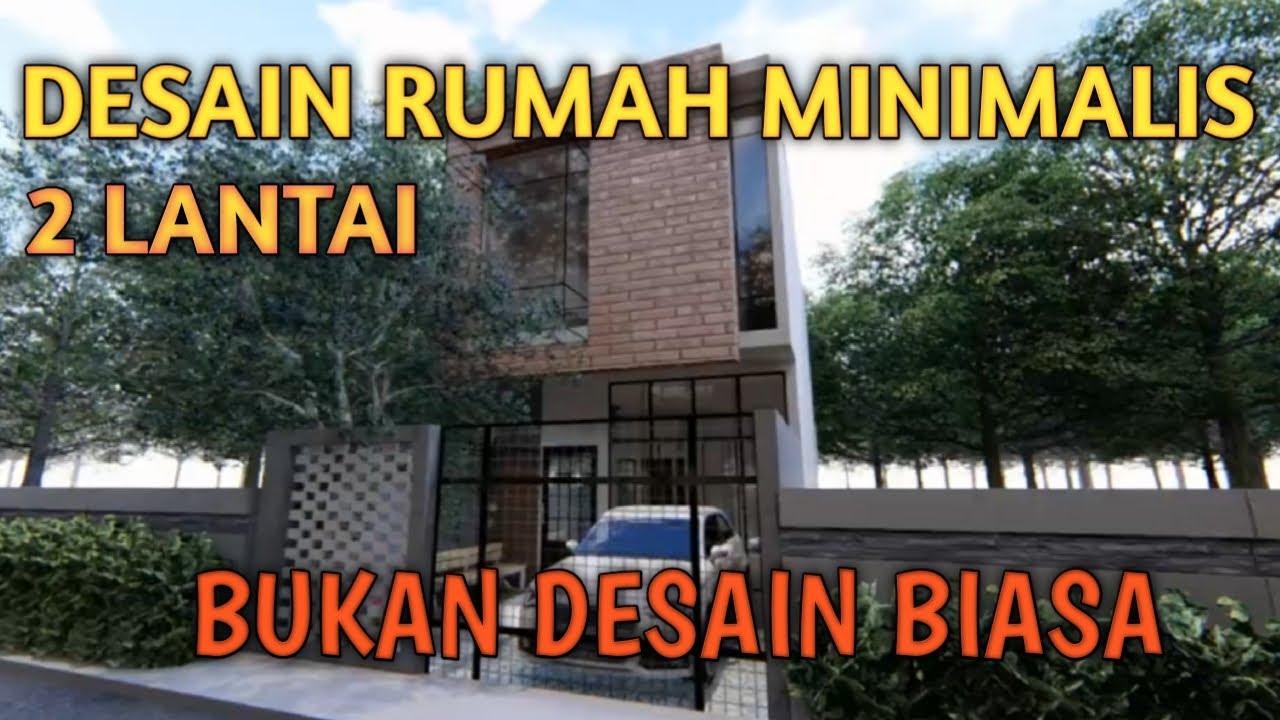 Desain Rumah Minimalis 2 Lantai Youtube