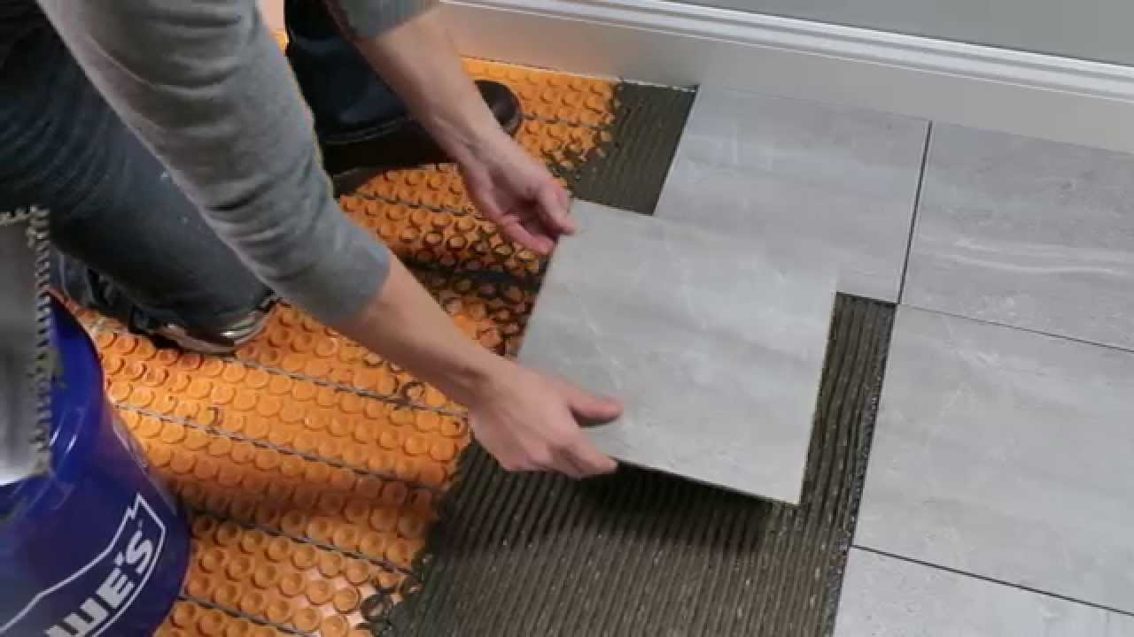 Schluter ditra heat for floors youtube dailygadgetfo Gallery