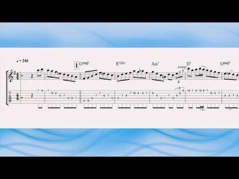 Joe Pass - The Night Has A Thousand Eyes - Jazz Guitar Solo Transcription