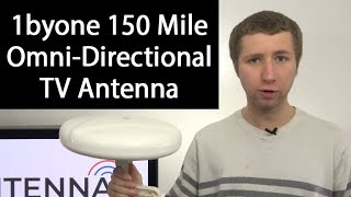 1byone 150 Mile Omni-Directional Amplified Outdoor TV Antenna Review
