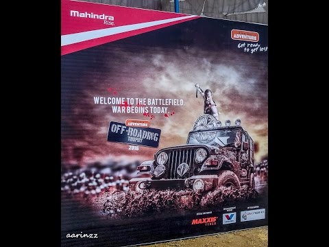 Mahindra Adventure Off-roading Trophy 2015-2016, Igatpuri..