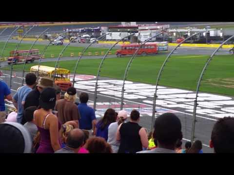 Cabarrus Charter Academy bus race 2015