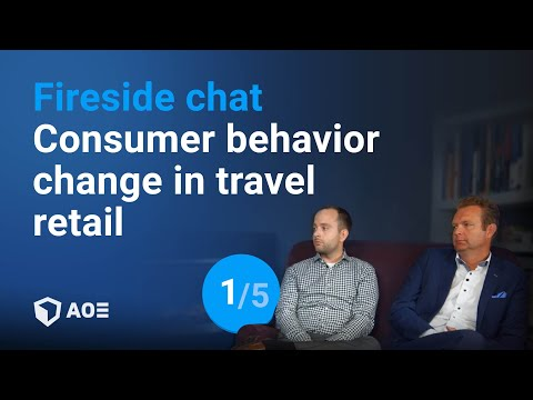 1/5: Consumer behavior change in travel retail - fireside chat with Peter Mohn & Kian Gould