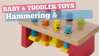 Hammering & Pounding Toys Best Sellers Collection // Baby & Toddler Toys