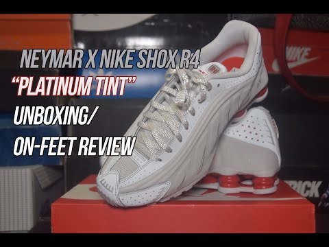 "Neymar Jr. x Nike Shox R4 ""Platinum Tint"" | Solepost Unboxings"