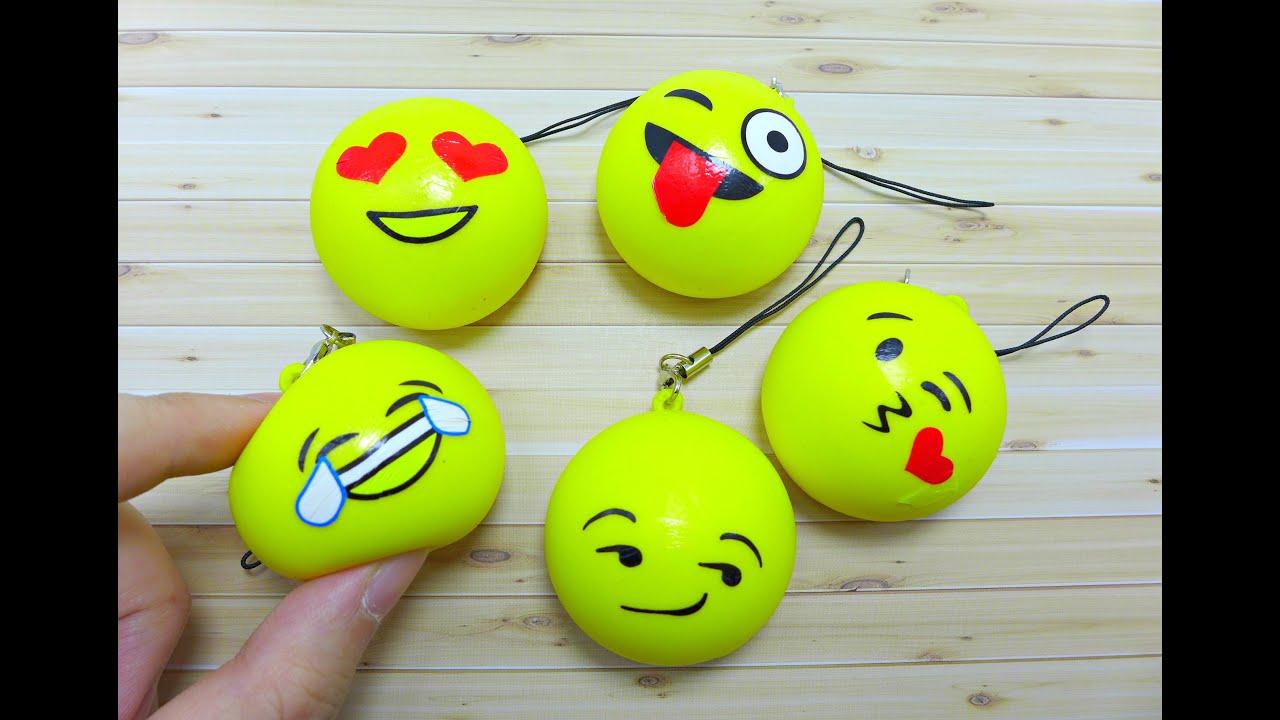 Squishy Mini Bun : Mini Emoji Bun Squishy - YouTube