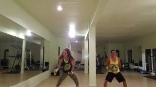 Zumba Toning Halloween Choreo with Zes Madalene Aponte and Zin Keoni Manuel