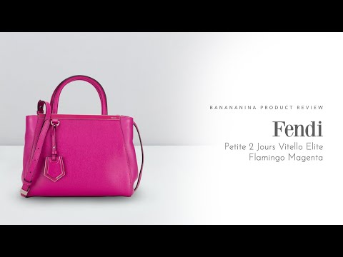 Banananina Product Review: Fendi Petite 2 Jours Vitello Elite Flamingo Magenta