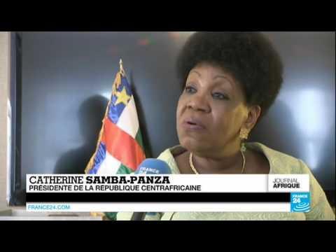 """CENTRAFRIQUE - Catherine Samba-Panza : """"La paix et la cohésion sociale restent très fragile"""""""