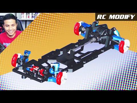 Thumbnail: RC Modify 25 Part 1 | RWD M-Drift Chassis Creation