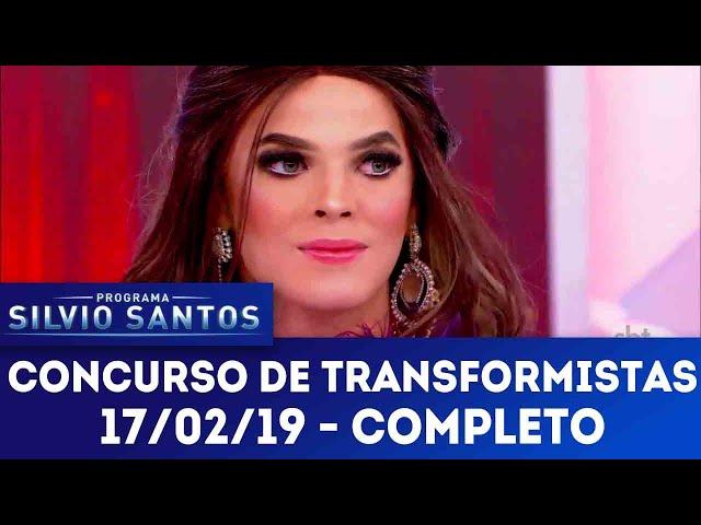 Concurso de Transformistas | Programa Silvio Santos (17/02/19)