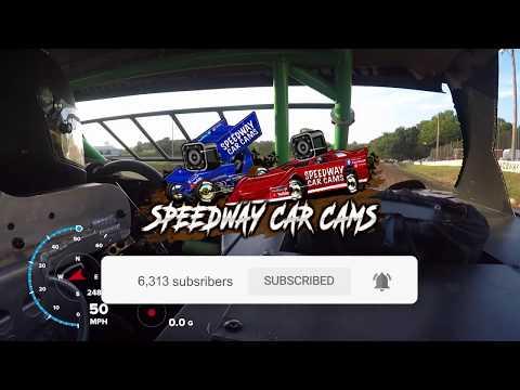 #08 Wyatt Sopha - Sharp Mini Late Model - 7-27-19 Springfield Raceway- In Car Camera