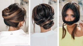 LAZY, ????but KEEP IT ELEGANT UPDOS | 2019 SPRING HAIRSTYLES FOR LONG MEDIUM HAIR