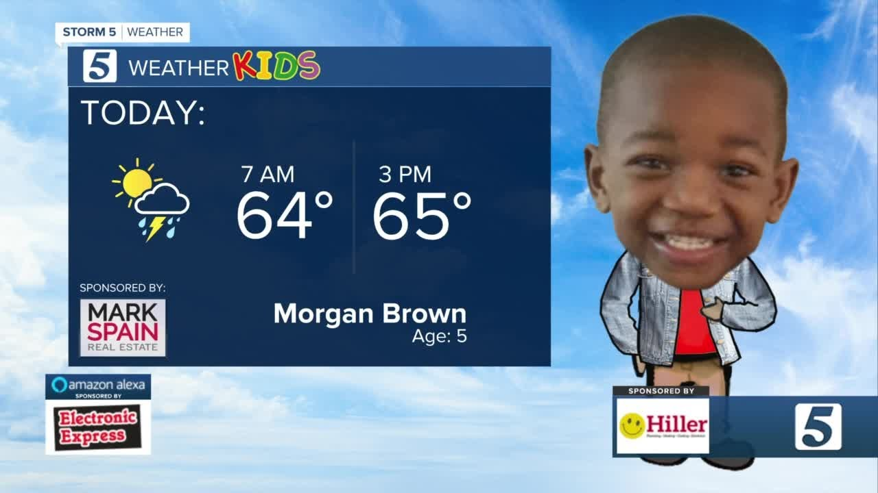 October 25 weather forecast: Temperatures near 70