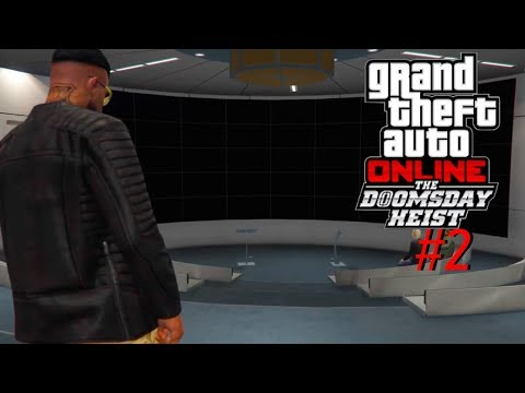 Grand Theft Auto V Online #2 (w/commentary)   The Doomsday Heist Update Part 1!