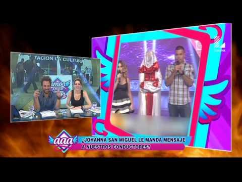 Johanna San Miguel se pone agresiva con indirecta a Amor Amor Amor