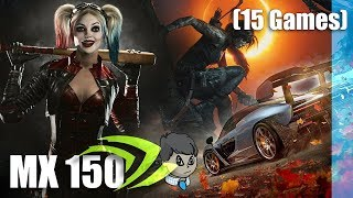 geforce MX150 Gaming in 15 Games 3