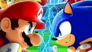 Super Mario Evolution of MARIO VS SONIC 2008-2016 (Wii, Wii U)