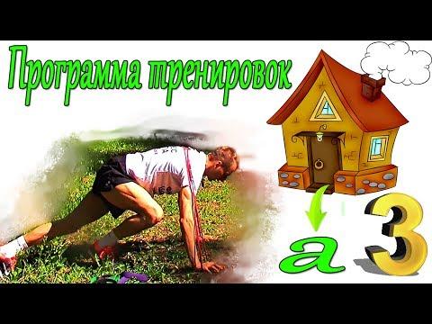 СЕЛУЯНОВ. Программа тренировок дома. №3. Статодинамика. Грудь спина.