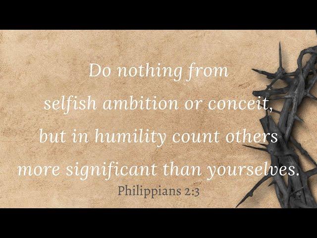 Christway Sept. 27 | Philippians 2: 1-5