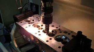 Opracování sedel ventilů Rottler SG7