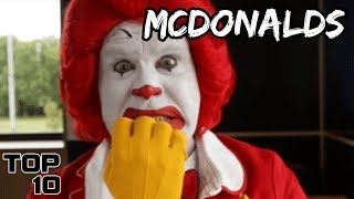 Top 10 Scariest Things That Happened At McDonalds