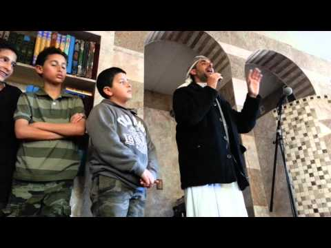 Young Muslim American generation learn Quran and H