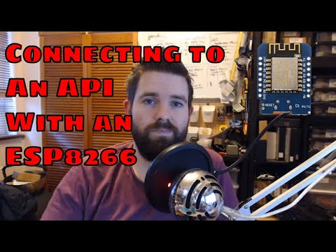 Connecting to an API using an ESP8266 (Or any Arduino)
