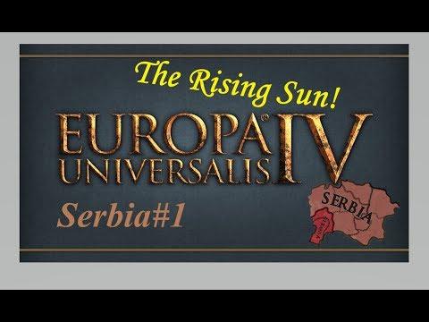 EU4 Serbia The Rising Sun - Part 1