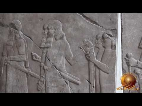 Assyrian artifacts at the Pergamon museum in Berlin