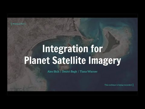 Integration for Planet Satellite Imagery