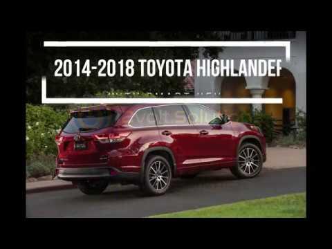 2017 2018 Toyota Highlander Plug Play Remote Start Kit Installation